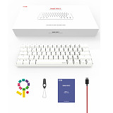 ANNE PRO 2 Programmable Mechanical Keyboard 61-Key PBT Keycaps 60% Wired+Wireless RGB Backlit