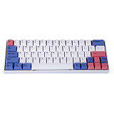 YC64 64-Key 60% Gaming Mechanical Keyboard PBT Keycaps RGB Compact Wired Wireless Bluetooth Dual-mode - Gateron Switches