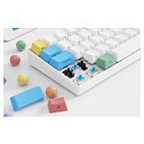 61 Keys 60% Gaming Mechanical Keyboard PBT Keycaps Wireless Bluetooth Ultra-Compact