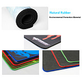 RGB Luminous Gaming Mouse Pad Colorful Oversized Desk Mat for Keyboard Mouse - White Planet