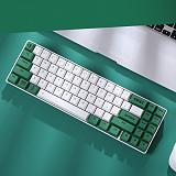 EK871 71-Key 65% Mechanical Gaming Keyboard PBT Keycaps Wireless Compact Bluetooth Keyboard for Windows/Mac/Andoid