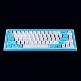 Mogrie RKB68 PBT Keycaps Ultra-thin Wired Wireless Dual-mode 60% Mechanical Keyboard for Video Gamer