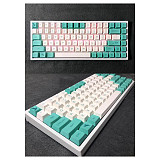 121pcs Redbreast Keycaps Set PBT Dye-sub with Puller for 61/64/87/96/104 Keys GH60 /RK61 /Matrix /Joke Custom Gaming Mechanical Keyboard