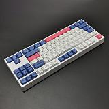 GK87 87 Keys Standard Gaming Mechanical Keyboard PBT Keycaps RGB Wired - Gateron Switches
