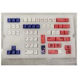 134pcs Sunset Glow Keycaps Set PBT Dye-sub with Puller for 61/64/87/96/104 Keys GH60 /RK61 /Matrix /Joke Custom Gaming Mechanical Keyboard
