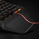 G30 One-handed Gaming Mechanical Keyboard 35-Key RGB for Windows/Mac