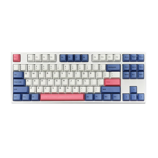 GK87 87 Keys Standard Gaming Mechanical Keyboard PBT Keycaps RGB Wired - Cherry Switches
