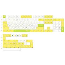 139Pcs Little Lemon Style PBT Dye-sub Keycaps with Puller for 61/64/87/96/104 Keys GH60 RK61 Matrix Joke Custom Mechanical Gaming Keyboard - Russian Radical
