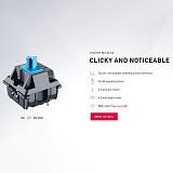 Unicorn 21 Keys PBT Keycaps Mechanical Keyboard Numeric Desktop Laptop Keypads - Ice Blue Keycaps