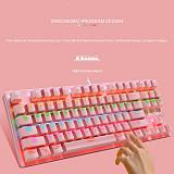 K550 87 Keys Gaming Mechanical Keyboard Computer Gamer Keyboard - Blue Switch