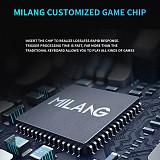MiLang MK808 104 Keys Gaming Mechanical Keyboard Luminous E-sports Keyboard