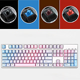 Unicorn 104 Keys Wired Mechanical Keyboard E-sports Gaming Keyboard