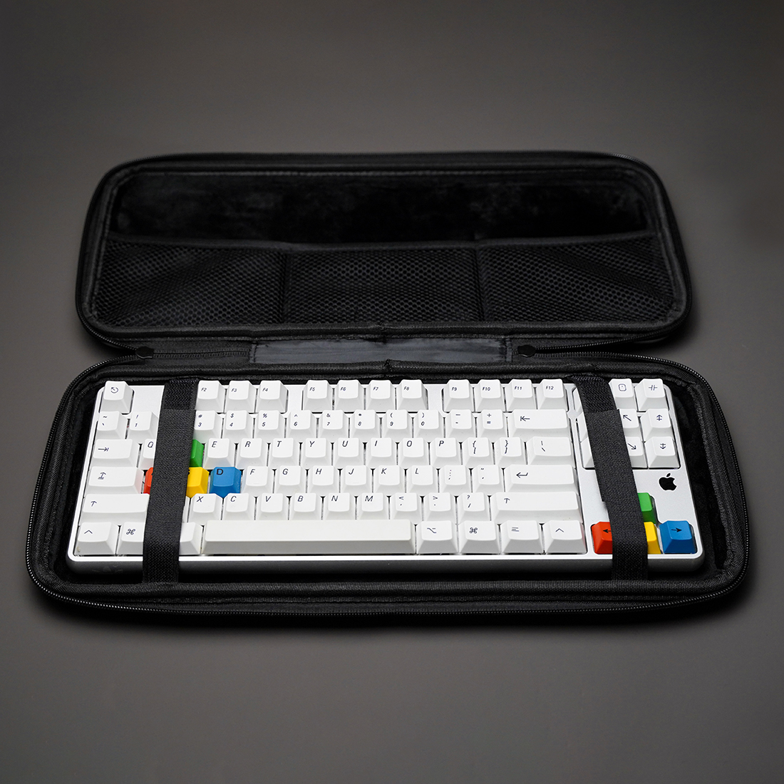 61 Keys Keyboard Storage Bag Carrying Case for 60% Mechanical Keyboard