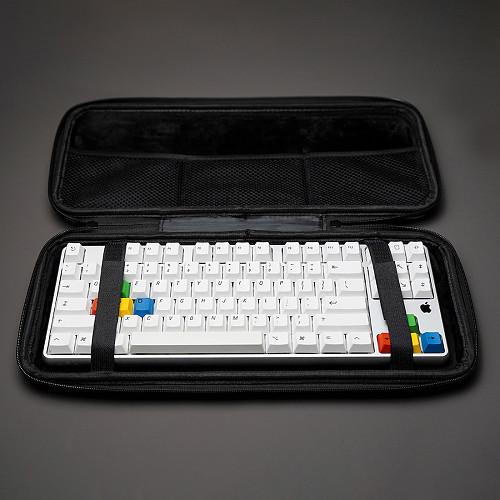 87 Keys Keyboard Storage Bag Carrying Case for 60% 75% 80% Mechanical Keyboard