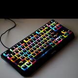 87-Key Keycaps Set PBT Translucent Backlight for Gaming Mechanical Keyboard