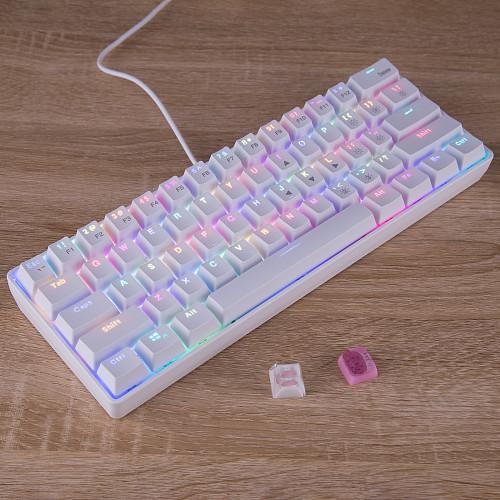 YC60 61-Key Mechanical Keyboard 2.4G Wireless Dual-mode RGB PC Gaming