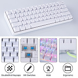 YC60 61-Key Mechanical Keyboard 2.4G Wireless Dual-mode RGB PC Gaming
