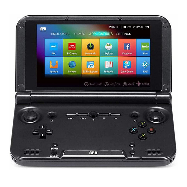 GPD XD Plus Handheld Gaming Console 5-Inch Touchscreen Android 7.0 Portable Video Game Player Laptop MT8176 Hexa-core CPU PowerVR GX6250 GPU 4GB/32GB Support Google Store