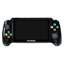 POWKIDDY X13 5.1-Inch Handheld 3000 Games Retro Game Console Double Gamepad Video Game Player - Black