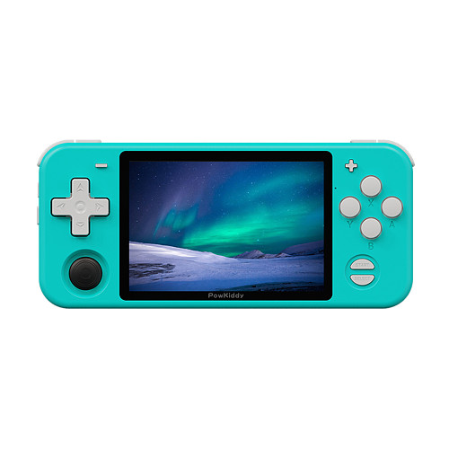 PowKiddy RGB10 Pro 3000 Games Handheld Open Source Retro HD Game Console (Blue)