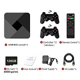 Powkiddy B-01 GameBox Console Video Game Player with Wireless Gamepads