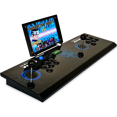 Pandora Box 3D 4222 Games Arcade All Metal Video Game Console with Monitor Home Fight Games Machine