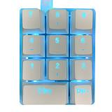 Mini 11 Keys Numerical Keyboard Wired Customized Shortcut Macro Left-hand Mechanical Keyboard