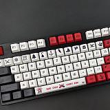 115pcs Beijing Opera Keycaps Set OEM Profile PBT Dye-sub for 61/64/87/96/104 Keys Custom Gaming Mechanical Keyboard