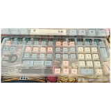 111pcs Westworld Keycaps Set XDA Profile PBT Dye-sub with Puller for 61/64/87/96/104 Keys GH60/RK61/Matrix/Joke Custom Gaming Mechanical Keyboard