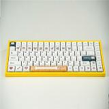 113pcs Shiba Inu Keycaps Set XDA Profile PBT Dye-sub for GH60/64/68/96/87/104/108 Gaming Mechanical Keyboard