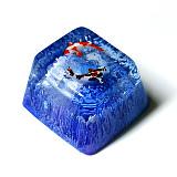 Koi Fish Resin Keycap Handmade Customized for Mechanical Keyboard - Small Size