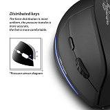2.4G Wireless Vertical 3D Gaming Mouse for Computer Laptop