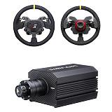 SIMAGIC M10 Direct Drive Steering Wheel Simulator Racing Gaming Wheel for Horizon 4/Euro Truck/DIRT/GTS/PS4 (Single Shift Paddle Steering Wheel + Direct Drive Base)