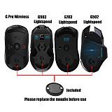 Pitta Studio Mouse Powerplay Wireless Charging for Logitech G403 G502 Lightspeed G703hero G903 Lightspeed and PRO Wireless Gaming Mice Hand Rest Plastic Case