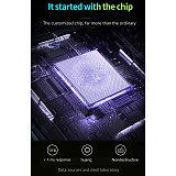MK25 61-Key Gaming Mechanical Keyboard 60% RGB Backlit Wired Doubleshot Pudding Keycaps