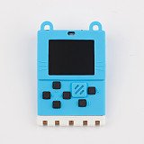 Kittenbot Meowbit Development Board Retro Computer Video Programable Game Console for Microsoft Makecode Arcade and Python Compatible with Micro:bit Expansion Board