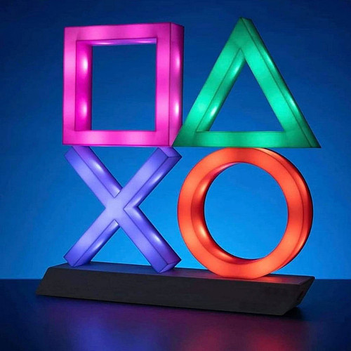PlayStation Icons Light XL Voice Control Game Atmosphere Light Game Room Wall Decor