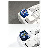 Vergo Personalized Resin Keycap Handmade Customized SA R1 Profile for Mechanical Keyboard