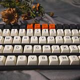 104pcs Yagekeycap Keycaps Set Carbon Ball Keycap SP SA Profile ABS for Custom Gaming Mechanical Keyboard