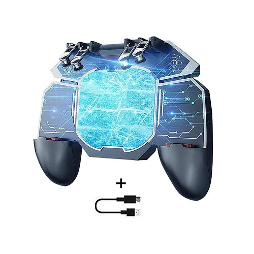 Cooling Fan 3-In-1 Mobile Game Controller Semiconductor Gamepad