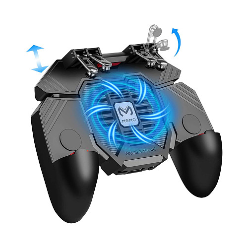 Cooling Fan Game Trigger Joystick Mobile Game Controller Gamepad