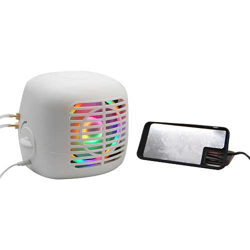 iPhone Water Cooling Radiator Semiconductor Refrigeration Cooler RGB Radiator with Phone Case