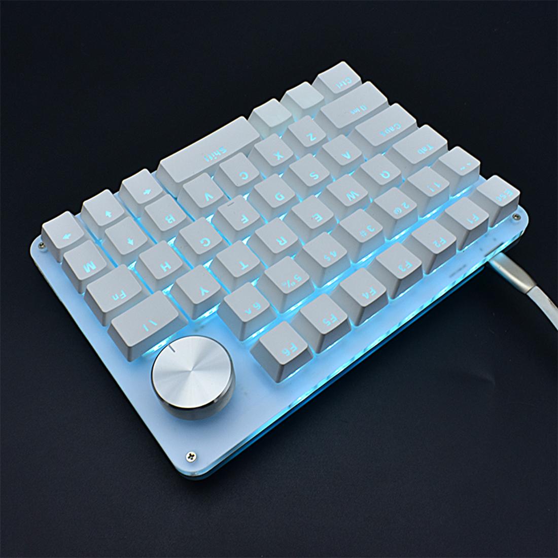 G50 Portable One-Handed Knob Keyboard Macro Fully Programmable Mechanical Keyboard