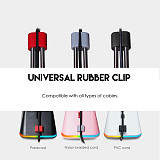 Gaming Mouse Cable Management Pro RGB Mouse Bungee Device Pro for Esports FPS Games