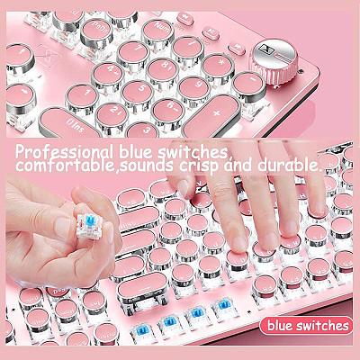 X9VR Electroplating Punk Keyboard Mouse Combo Gaming Mechanical Keyboard