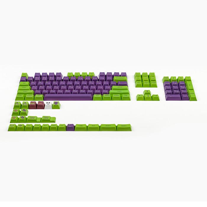 145pcs Cherry Profile PBT Dye-sub Keycaps for Gaming Mechanical Keyboard