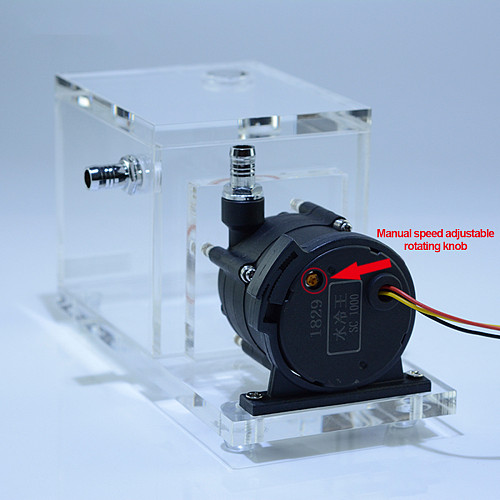 FREEZEMOD 7 Meters Water Pump and Water Tank Integrated Water Cooling Built-in Defoamer Head Water Cooler - Flow 1200L