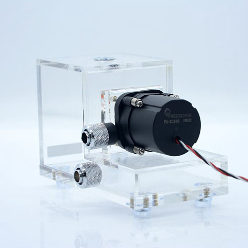 FREEZEMOD 4M Water Pump and Water Tank Integrated Water Cooling Radiator Flow 600L
