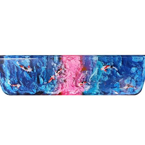 Resin Hand Rest Fish Swim Shallow Water Custom Mechanical Keyboard Wrist Pad