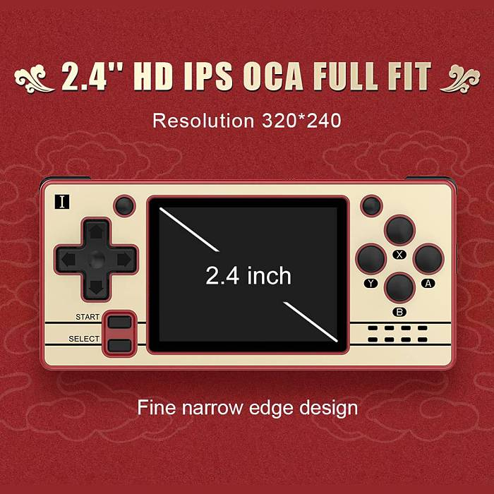 POWKIDDY Q20 MINI Handheld 2.4 inch Open Source System Retro Game Console